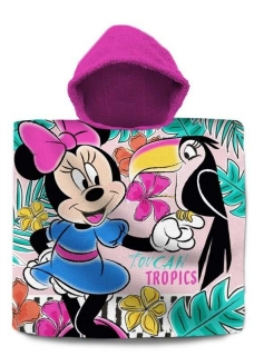Pončo Minnie Tropic 60/120